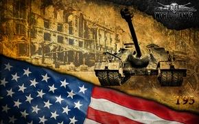 Picture America, tanks, WoT, World of Tanks, PT-ACS, T95
