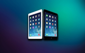Picture Apple, Background, Abstraction, iPad, Tablet