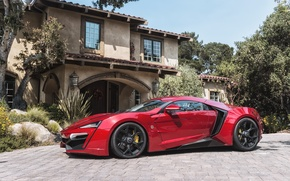 Picture red, lykan, hypersport