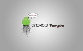 Picture Android, Devil, Vampire, Minimalism