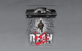 Picture parody, Supernatural, supernatural, Dean Winchester, Dean Winchester, Akira, Akira, Chevrolet Impala 1967