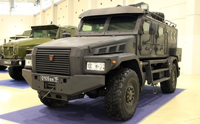 Picture chassis, Armored car, on, KAMAZ-43502-45, Patrol-A