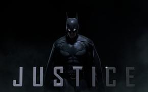 Picture batman, game, justice, Infinite Crisis