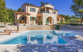 Picture Villa, pool, architecture