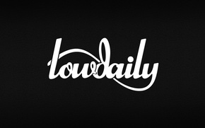 Picture logo, black, lowdaily