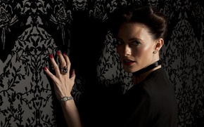 Wallpaper the series, Lara pulve, sherlock bbc, Irene Adler, lara pulver, irene adler, serial, Sherlock
