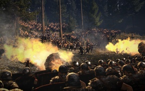 Picture ambush, battle, total war, strategy, the Romans, rome 2, total war, Barbara, creative assembly