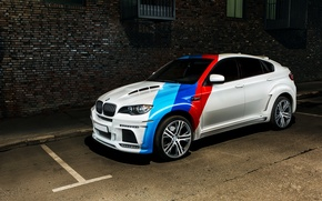 Picture car, jeep, SUV, bmw x6m