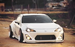 Picture white, subaru, toyota, jdm, tuning, low, brz, stance, gt86, scion, fr-s