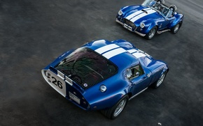 Picture classic, legend, cars, 1965, 1967, sports, racing, Shelby Cobra, Daytona Coupe