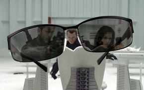 Wallpaper glasses, Resident evil, Resident Evi, reflection, room