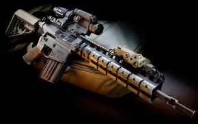 Wallpaper weapons, optics, LaRue, rifle, Tactical, PredatOBR, 7.62