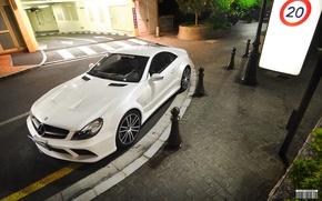 Picture Mercedes-Benz, Black Series, Whtie, SL65 AMG
