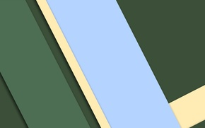 Picture line, green, blue, geometry, design, color, material
