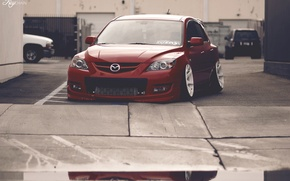 Picture Mazda, jdm, stance, Low, BellyScrapers, speed3