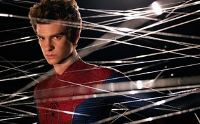 Picture spider man, web, peter parker, the amazing spider man, andrew garfield