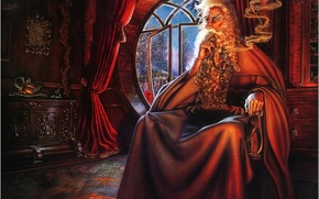 Wallpaper fantasy, Gandalf, the Lord of the rings, Nora