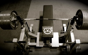 Picture Bench, Rod, Gym, Bench