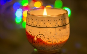 Picture memory, flame, holiday, candle