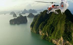 Wallpaper phuket, helicopter, thailand