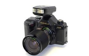 Picture macro, camera, Yashica 108 Multi Program