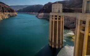Picture AZ, USA, The Hoover Dam, Boulder Dam