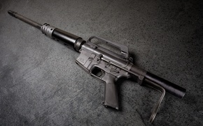 Picture weapons, background, AR-15, assault rifle