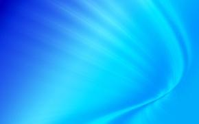 Wallpaper minimalism, bending, blue