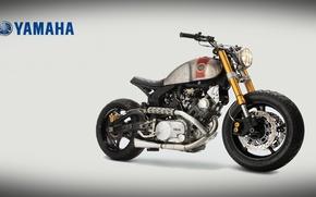 Picture Yamaha, classic, motorbike