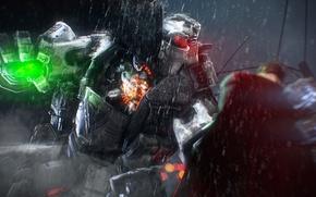 Picture rain, fight, atlas, titan