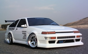 Picture toyota, tuning, corolla, ae86