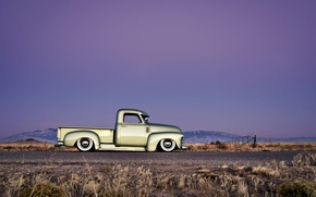 Picture the sky, tuning, Chevrolet, Chevy, 1949, Pick up