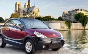 Picture Paris, Cathedral, Citroen, pluriel, C3