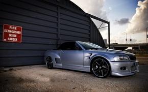Picture car, tuning, bmw, BMW, garage, convertible