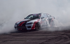 Wallpaper nissan, RDS, silvia, formula drift, tuning, drift, s15