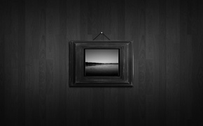 Picture Wall, Black and white, Picture