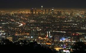 Wallpaper city, the city, USA, Los Angeles, California