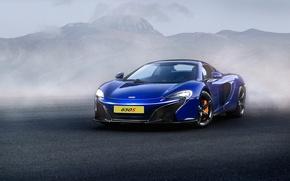 Picture McLaren, Front, Supercar, Fog, 650S, Ligth