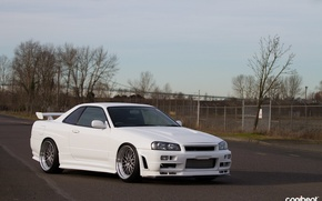 Picture nissan, turbo, skyline, japan, jdm, tuning, gtr, r34, nismo