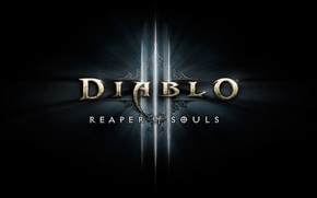 Picture Blizzard, Logo, Diablo III, Blizzard Entertainment, Reaper of Souls, Diablo III: Reaper of Souls, Expansion ...