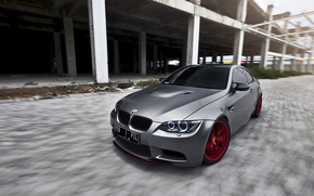 Picture grey, tuning, bmw, BMW, the front, BBS