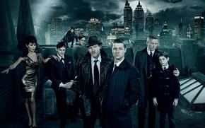 Picture Gotham, 2014, Gotham, The good, The evil