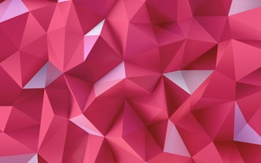 Picture LG G4 Wallpapers, triangles, pink, abstraction