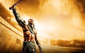 Picture warrior, Gladiator, Spartacus, spartacus, sand and blood, Spartacus: Gods of the arena