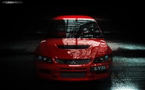 Wallpaper Lancer, Evolution, Mitsubishi
