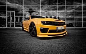 Wallpaper camaro, chevrolet, Bumblebee, Transformer