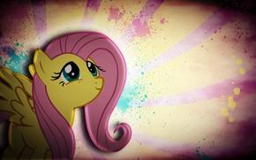 Picture pony, Grunge, My Little Pony, Fluttershy, pony, mlp, Fluttershy, JustaninnocentPony