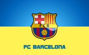 Picture wallpaper, sport, logo, football, FC Barcelona