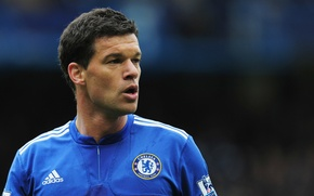 Picture Chelsea, midfielder, Michael Ballack