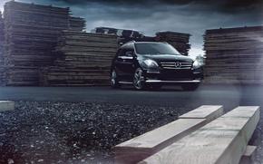 Picture auto, design, style, mark, Mercedes-Benz ML63 AMG